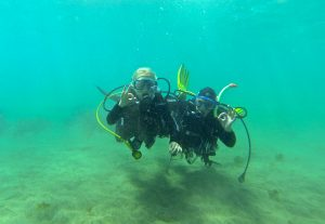 Diving Arinaga 10 open certificate ask about mogan
